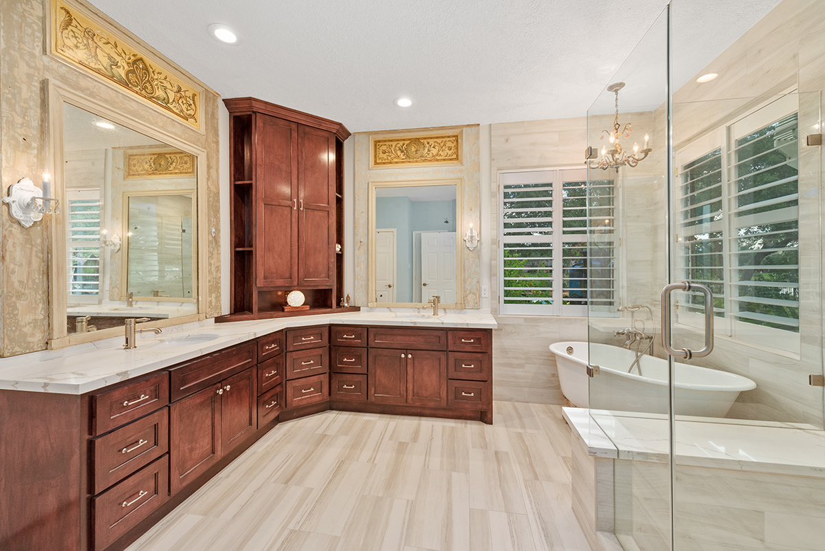 Marvelous Master Bathroom